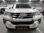 Cần bán xe Toyota Fortuner 2.7V đời 2017, màu trắng giá 1 tỷ 250 tr tại Tp.HCM
