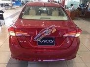 Cần bán Toyota Vios 1.5G sản xuất 2018, màu đỏ giá 606 triệu tại Tp.HCM