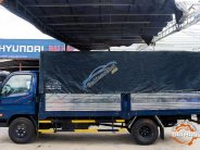 Cần bán xe Hyundai Mighty đời 2017, màu xanh lam, thùng kèo thùng kín, giá 650tr giá 650 triệu tại Tp.HCM