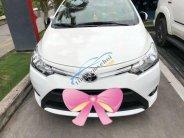 Cần bán lại xe Toyota Vios năm 2017, màu trắng xe gia đình, 560 triệu giá 560 triệu tại Cần Thơ