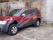 Bán Ford Escape sản xuất 2003, màu đỏ số sàn giá 239 triệu tại Gia Lai