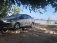Cần bán lại xe Toyota Vios đời 2017 màu nâu vàng, giá 495tr giá 510 triệu tại Tây Ninh