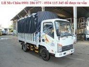 Bán xe tải Veam VT255, động cơ-hộp số-cầu nhập khẩu Hàn Quốc, giá hợp lý, trả góp lãi suất thấp, vay tới 80% giá 370 triệu tại Tp.HCM