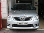 Bán Toyota Innova 2.0E số sàn, màu bạc, sản xuất và đăng ký cuối 2012 giá 515 triệu tại Hà Nội