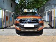 Bán Ford Ranger Wildtrak 3.2 AT 4x4 sản xuất 12/2017 màu cam, biển Hà Nội giá 868 triệu tại Hà Nội
