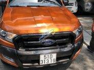 Ô tô cũ Ford Ranger Wildtrak 3.2L 4x4 AT đời 2017, màu nâu, nhập khẩu nguyên chiếc giá 850 triệu tại Tp.HCM
