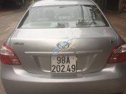 Bán ô tô Toyota Vios 1.5 MT đời 2012, màu bạc chính chủ giá 310 triệu tại Bắc Giang