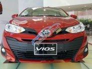 Bán xe Toyota Vios 1.5E CVT sản xuất năm 2018, màu đỏ giá 554 triệu tại Tp.HCM