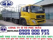 Xe tải Dongfeng YC310 4 chân giá rẻ|Dongfeng Hoàng Huy YC310 giá 1 tỷ 200 tr tại Tp.HCM