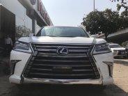 Bán Lexus LX570 màu trắng,nội thất nâu, full option,sản xuất 2016, đăng ký 2017.LH :0906223838 giá 7 tỷ 290 tr tại Hà Nội