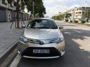 Cần bán gấp Toyota Vios sản xuất 2014, số sàn, màu vàng cát. Chính chủ gia đình đang sử dụng giá 397 triệu tại Hà Nội