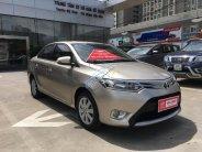 Cần bán xe Toyota Vios E đời 2017, màu vàng giá 508 triệu tại Hà Nội