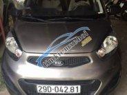 Cần bán lại xe Kia Morning sản xuất năm 2012, màu xám giá 220 triệu tại Hà Nội