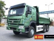 Bán xe ben Howo 3 chân đời 2017 giá 1.021 tỷ. KM 2% thuế trước bạ giá 1 tỷ 21 tr tại Hà Nội