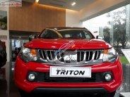 Bán Mitsubishi Triton sản xuất năm 2017, màu đỏ, nhập khẩu như mới giá 525 triệu tại Hà Tĩnh