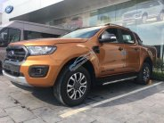 Bán Ford Ranger XLT AT 2.0, 2018, màu cam, nhập khẩu, sẵn xe, đủ màu, lăn bánh thêm 30 triệu nhận xe, giao xe tận nhà giá 779 triệu tại Quảng Ninh