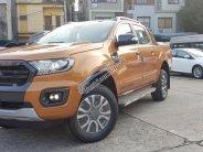 Quảng Ninh, bán Ford Ranger đời 2018, Wildtrak, 2.0 màu cam, nhập khẩu nguyên chiếc, lăn bánh 900 Triệu. Vay 90% giá 853 triệu tại Quảng Ninh