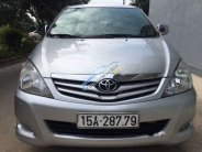 Chính chủ bán Toyota Innova sản xuất năm 2010, màu bạc giá 432 triệu tại Hải Phòng