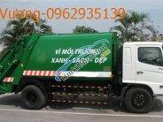 Bán xe cuốn ép rác Hino 9 khối giá 1 tỷ tại Hà Nội