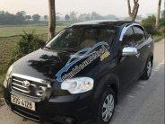 Bán lại xe Daewoo Gentra đời 2009, màu đen, xe gia đình giá 190 triệu tại Hà Nội