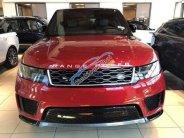 Ranger Rover Sport HSE model 2018, màu đỏ mận, nhập khẩu nguyên chiếc giá 6 tỷ 950 tr tại Hà Nội