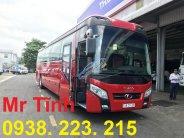 Cần bán xe 45-47 chỗ Thaco Universe Tb120s W336IE4 sản xuất 2018 màu đỏ giá 2 tỷ 455 tr tại Tp.HCM