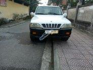 Cần bán xe Ssangyong Musso sản xuất 2004, màu trắng, 135tr giá 135 triệu tại Hà Nội
