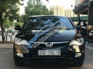 Cần bán xe Honda Civic AT sản xuất 2008, màu đen giá 380 triệu tại Hà Nội