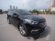 Bán Hyundai Santa Fe sản xuất 2017, màu đen giá 1 tỷ 160 tr tại Hà Nội