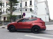 Cần bán xe Hyundai Santa Fe 2.4L 4WD sản xuất năm 2017, màu đỏ giá 1 tỷ 129 tr tại Hà Nội