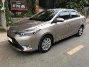 Cần bán xe Toyota Vios 2018 số tự động màu vàng cát biển sg giá 522 triệu tại Tp.HCM