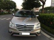 Chính chủ gia đình cần bán gấp chiếc Toyota Innova 2.0E sản xuất 2015, số sàn, màu vàng cát giá 550 triệu tại Hà Nội