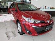 Bán xe Toyota Vios năm sản xuất 2018, màu đỏ, giá tốt giá 606 triệu tại Hà Nội