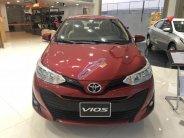 Bán Toyota Vios 1.5E CVT sản xuất năm 2018, màu đỏ, 547tr giá 547 triệu tại Tp.HCM