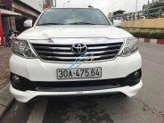 Bán Fortuner Sportivo 1 cầu sx 2014, màu trắng giá 820 triệu tại Hà Nội