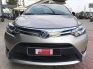 Bán xe Toyota Vios 1.5G số tự động đời 2017 màu nâu vàng, giá thương lượng, với khách mua xe tại đại lý Toyota chính hãng giá 580 triệu tại Tp.HCM