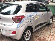 Cần bán xe Hyundai Grand i10 AT 1.2 sản xuất năm 2015, màu bạc còn mới giá 359 triệu tại Hà Nội