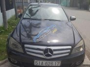 Bán Mercedes C200 đời 2009, màu đen, giá chỉ 400 triệu giá 400 triệu tại Tp.HCM