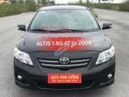 Cần bán xe Toyota Corolla altis 1.8G AT đời 2009, màu đen giá 488 triệu tại Hà Nội