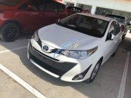 Cần bán Toyota Vios 1.5E CVT sản xuất 2018, màu trắng, giá tốt giá 554 triệu tại Tp.HCM