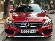 Bán ô tô Mercedes C300 sản xuất 2016, màu đỏ chính chủ giá 1 tỷ 640 tr tại Hà Nội