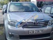 Cần bán lại xe Toyota Fortuner đời 2012, màu bạc, giá cạnh tranh giá 700 triệu tại Đà Nẵng