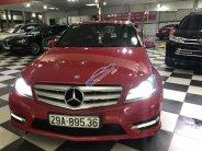 Bán ô tô Mercedes C300 AMG đời 2012, màu đỏ, nhập khẩu nguyên chiếc giá 795 triệu tại Hà Nội