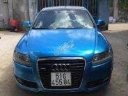 Cần bán Audi A6 3.0 V6 năm 2008, màu xanh lam, nhập khẩu, giá 650tr giá 650 triệu tại Tp.HCM