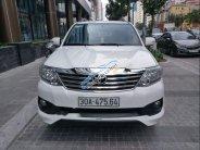 Bán Toyota Fortuner Sportivo 2.7 năm 2014, màu trắng ít sử dụng giá 820 triệu tại Hà Nội