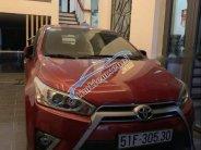 Cần bán Toyota Yaris 1.3G sản xuất 2016, màu đỏ, xe gia đình, ít chạy giá 600 triệu tại Tp.HCM
