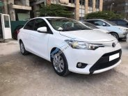 Cần bán gấp Toyota Vios 2017 bản E màu trắng giá 513 triệu tại Tp.HCM