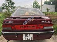 Bán Peugeot 405 đời 1991, màu đỏ, xe nhập, giá chỉ 80 triệu giá 80 triệu tại Đồng Nai