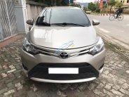 Cần bán xe Toyota Vios E sản xuất 2016, màu nâu vàng, giá 500tr giá 500 triệu tại Hà Nội