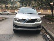 Cần bán Toyota Fortuner V sản xuất 2012, màu bạc xe gia đình, 645tr giá 645 triệu tại Hà Nội